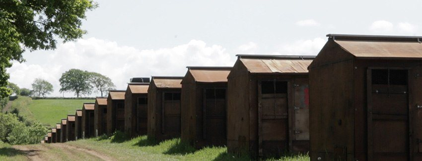 view of rearing huts